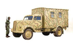 ITALERI 1/35 Opel Blitz Radio Truck , DUE 5/30/2020, LIST PRICE $44.99