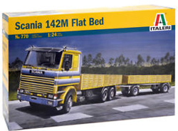 ITALERI Scania 142M Flatbed 1:24, LIST PRICE $119.99