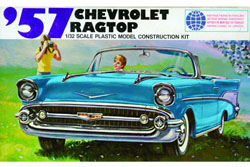Lindberg  J Lloyd 1/32 1957 Chevy Ragtop, LIST PRICE $12.5