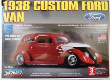 Lindberg  J Lloyd 1/24 1938 Custom Ford Van, LIST PRICE $24.49