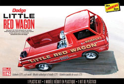 "Lindberg  J Lloyd 1/25 Dodge ""Little Red Wagon"", LIST PRICE $23.95"