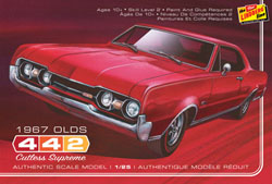 Lindberg  J Lloyd 1967 Oldsmobile 442, LIST PRICE $26.99