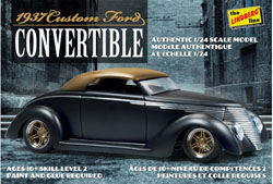 Lindberg  J Lloyd 1937 Ford Custom Convertible, LIST PRICE $33.23