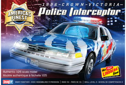 Lindberg  J Lloyd America's Finest Crown Victoria Police Cruiser, LIST PRICE $22