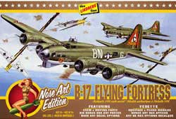 Lindberg  J Lloyd B-17G Nose Art Edition, LIST PRICE $27.99