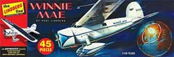 Lindberg  J Lloyd 1/48 Winnie Mae Airplane, LIST PRICE $18.5