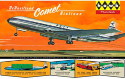 Lindberg  J Lloyd British Jetliner DeHavilland Comet, LIST PRICE $26.99