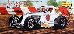 Lindberg  J Lloyd White Lightnin Modified 1:24, LIST PRICE $22.5