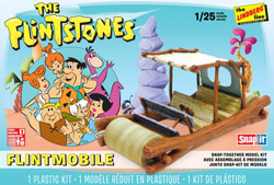 Lindberg  J Lloyd FLINTSTONE'S CAR Snap 1:20, LIST PRICE $31.25