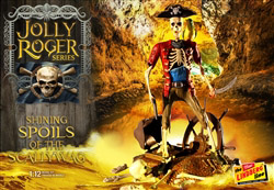 Lindberg  J Lloyd 1/12 Jolly Roger Series Shining Spoil of Scallywag, DUE 4/30/2019, LIST PRICE $23.99