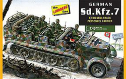 Lindberg  J Lloyd 1/72 German 8 Ton Semi Weapons C, LIST PRICE $15