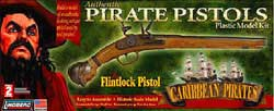 Lindberg  J Lloyd 1/1 Pirate's Flintlock Pistol, LIST PRICE $20