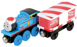 Learning Curve TWR Thomas & Musical Candy Cane Car, LIST PRICE $21.99