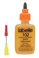 Labelle PLASTIC COMPATIBLE GEAR LUB, LIST PRICE $9.29