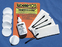 Labelle DCC Rail Cleaner - Anti Oxidant Extra Cleaning Pads, LIST PRICE $7.89