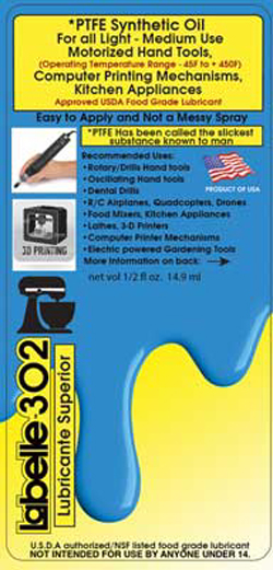 Labelle PTFE Motor Tool Oil, LIST PRICE $9.69
