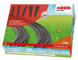 Marklin/TRIX HO My World Plastic Track Expansion Set, LIST PRICE $16.99