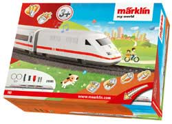Marklin/TRIX HO My World ICE Battery Starter Set w/Plastic Track, LIST PRICE $69.99