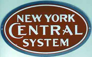 Micro Scale Die-Cut Metal Sign  NYC, LIST PRICE $14.5
