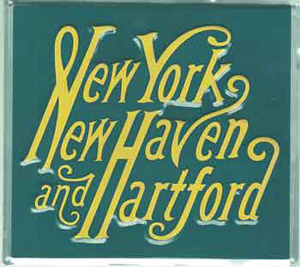 Micro Scale Die-Cut Metal Sign NY/NH, LIST PRICE $14.5