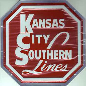 Micro Scale Die-Cut Metal Sign KCS, LIST PRICE $14.5