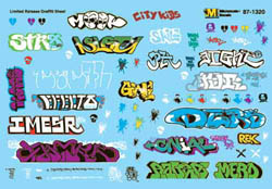 Micro Scale N Urban Graffiti Limited Edition Volume 3 2007+, LIST PRICE $7.5