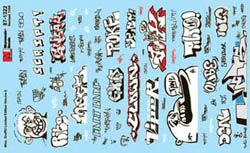 Micro Scale N Misc Graffiti Limited Ed, LIST PRICE $8.5