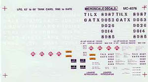 Micro Scale N 63'&66' Liquid petrol, LIST PRICE $6.5