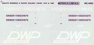 Micro Scale N DPW Loco, LIST PRICE $6.5