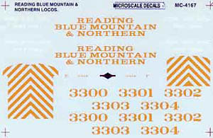 Micro Scale N Read Blue Mnt & North 91+, LIST PRICE $6.5