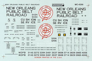 Micro Scale N 50' Bx Cr Nw Orln Pbl Blt, LIST PRICE $6.75