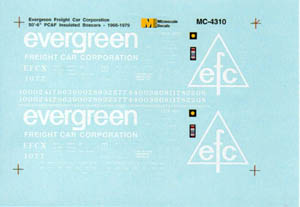 Micro Scale N Evergreen Frtcr Corp Box, LIST PRICE $6.75