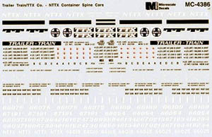 Micro Scale N Trl Tr TTX Cntr Spn Car, LIST PRICE $6.75