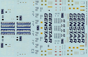 Micro Scale N Genstar 20,40,48 Cntnr, LIST PRICE $6.75