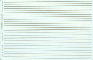 """Micro Scale N Striping 1""""/2""""wide Gold, LIST PRICE $5.75"""