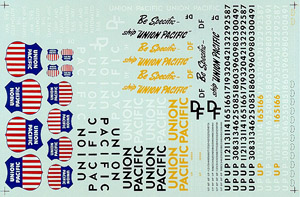 Micro Scale HO UP FREIGHT (1970), LIST PRICE $8.25