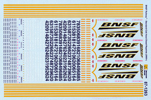Micro Scale HO BNSF Std Cb Hd Repnts, LIST PRICE $8.25
