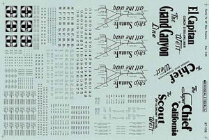 Micro Scale HO ATSF 40' Rfr w/Strt Map, LIST PRICE $8