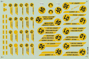 Micro Scale HO SP LOADING SYMBOLS, LIST PRICE $8