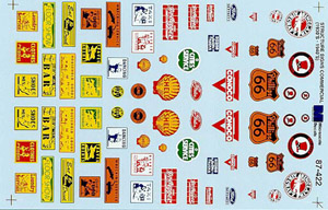 Micro Scale HO 30/40s Commercial signs#3, LIST PRICE $8.25