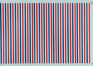 "Micro Scale HO Amtrak stripe 24"" phase 3, LIST PRICE $8.25"