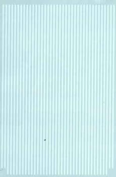 "Micro Scale HO Barricade Stripes 6"" wht, LIST PRICE $7.25"