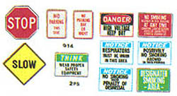BTS Color Osha/St Signage 2/, LIST PRICE $1