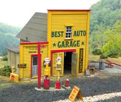 BTS HO Best Auto Garage, LIST PRICE $79.95