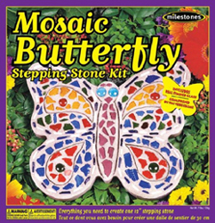 Midwest Milestones,� Mosaic Butterfly Kit, LIST PRICE $14.99