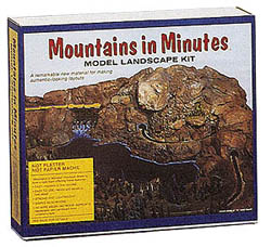 Mountains in Minutes Model landscape kit, LIST PRICE $64.64