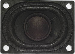 Miniatronics DCC Speaker rect 28x40mm, LIST PRICE $12.95