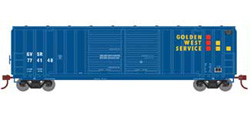 Roundhouse HO 50ft 5283 FMC DD Box Golden West #774148, DUE 5/30/2020, LIST PRICE $28.98