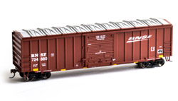 Roundhouse HO 50ft OB Box BNSF #724880, DUE 9/30/2019, LIST PRICE $28.98
