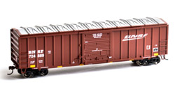 Roundhouse HO 50ft OB Box BNSF #724889, DUE 9/30/2019, LIST PRICE $28.98